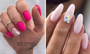 Inspiracje na różowy manicure - 13 modnych pomysłów