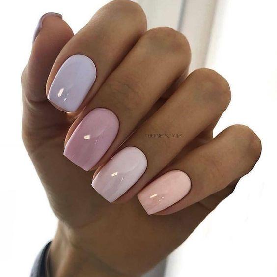 Pomysły na pastelowe paznokcie