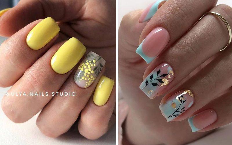 Manicure na wiosnę - TOP 14 inspiracji