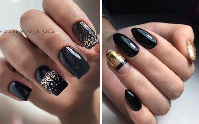 Czarne paznokcie - 14 modnych inspiracji